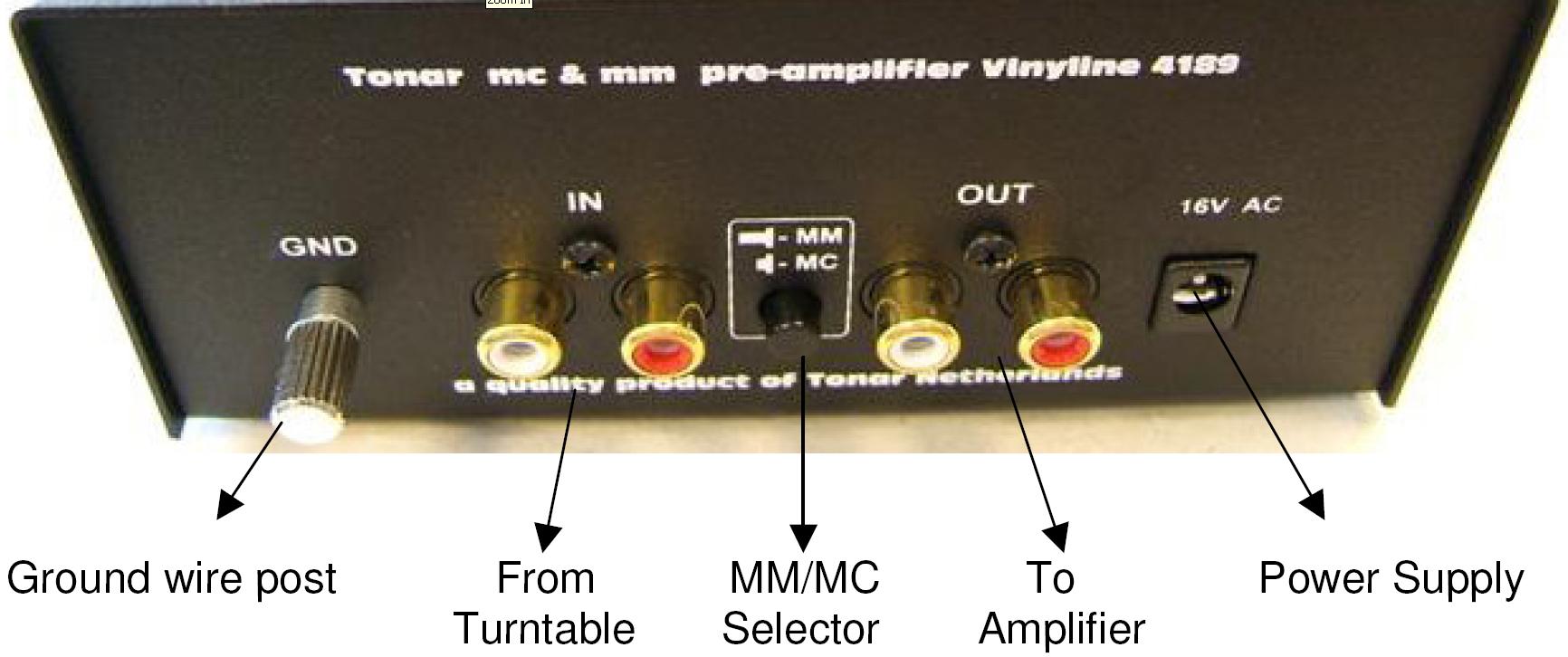 4189 Tonar Vinyline Mm  Mc Preamp