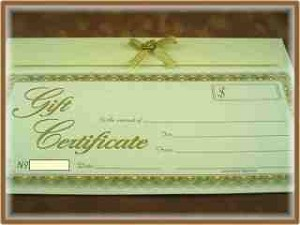 GIFT Certificate $95