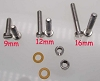 Turntable Cartridge Headshell Mounting Hardware Screw Kit