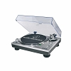 AT-LP120USB Silver audio-technica Direct-Drive Professional Turntable | USB + Analog