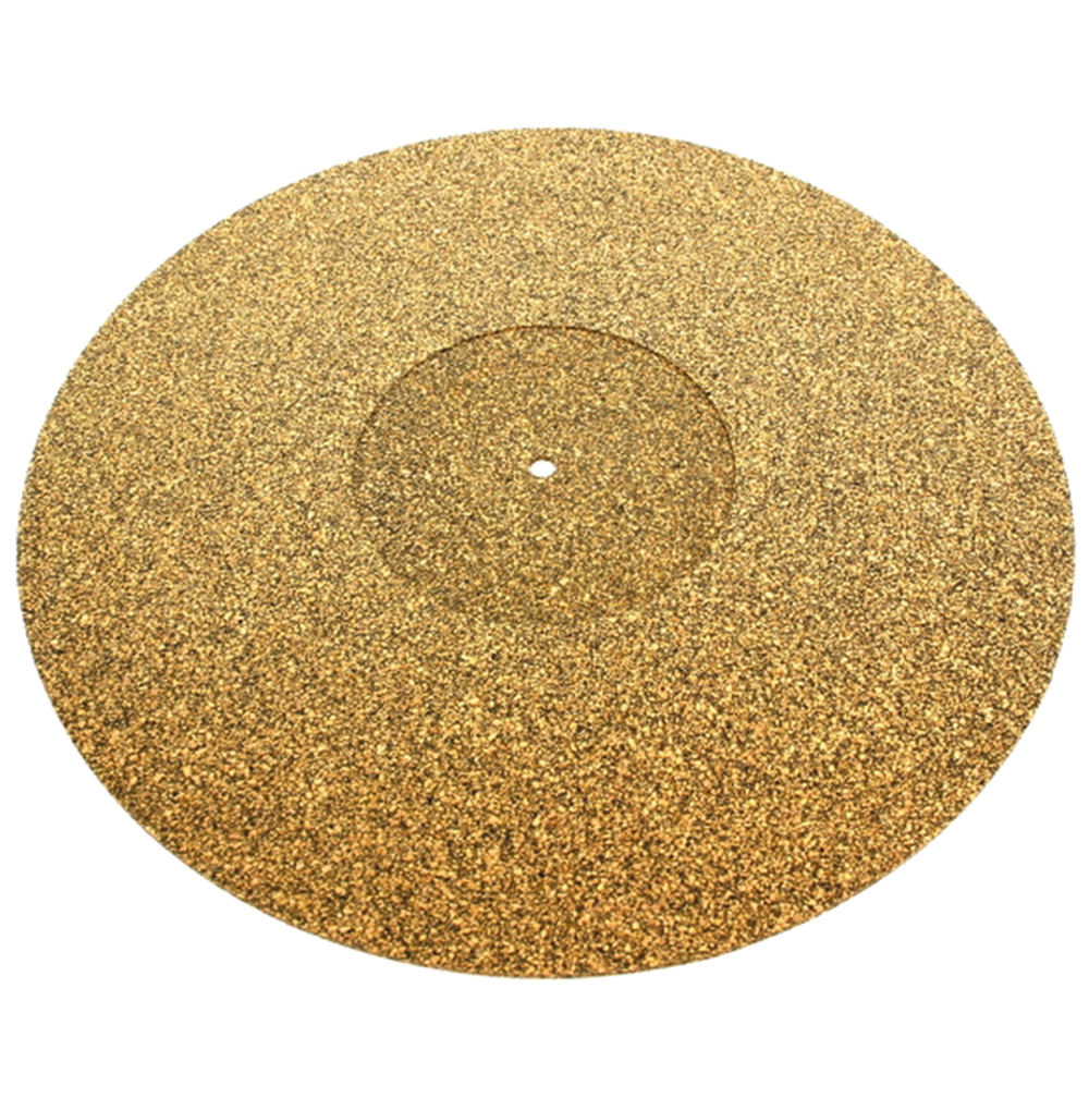 Turntable Cork And Rubber Platter Mat