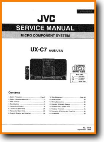 Jvc Uxc 7 Mini Shelf System On Demand Pdf Download English