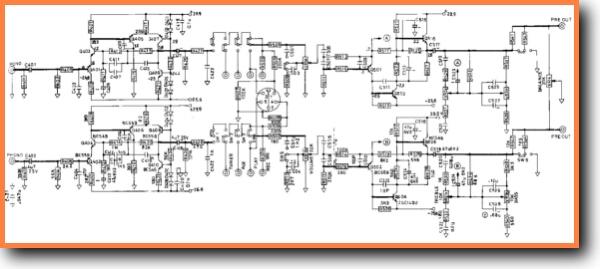 NAD 3020 Amp Receiver Addendum - B Schematics - PDF & Tech Help* | Nad Schematic on
