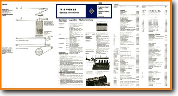 Telefunken BAJAZZO-SPORT-101-K Portable Stereo - On Demand PDF Download |  German