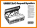 Uher 1200 Report Synchro Tape Player Main Brochure - PDF & Tech Help* | German