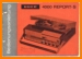 Uher 4000 Report S Tape Player Main User Book - PDF & Tech Help* | German