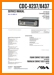 Aiwa CDCX-237 Automotive Audio Main Technical Manual - PDF & Tech Help* | English