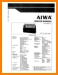 Aiwa CS-880 Portable Stereo Main Technical Manual - PDF & Tech Help* | English