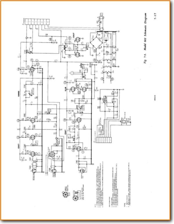 ampex 601 tube amplifier