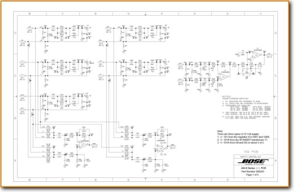 Bose Acoustim Wiring Diagram on