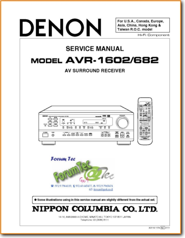 Denon AVR-1602 Solid State Amp Receiver - On Demand PDF Download | on amp capacitor, amp layout, amp battery, amp installation, amp symbol, amp cell, amp cable, amp wire, amp box, amp wiring, amp power, amp diagram, amp modeling, amp table,