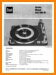 Dual 1009-SK Turntable Record Player Main Technical Manual - PDF & Tech Help* | English