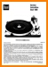 Dual 1009 Turntable Record Player Main Technical Manual - PDF & Tech Help* | English