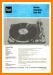 Dual 1015 Turntable Record Player Main Technical Manual - PDF & Tech Help* | German