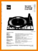 Dual 1209 Turntable Record Player Main Technical Manual - PDF & Tech Help* | German