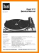 Dual 1211 Turntable Record Player Main Technical Manual - PDF & Tech Help* | English