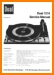 Dual 1214 Turntable Record Player Main Technical Manual - PDF & Tech Help* | English