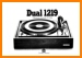 Dual 1219 Turntable Record Player Main User Book - PDF & Tech Help* | English