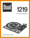 Dual 1219 Turntable Record Player Main User Book - PDF & Tech Help* | German