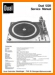 Dual 1228 Turntable Record Player Main Technical Manual - PDF & Tech Help* | English