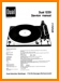 Dual 1229 Turntable Record Player Main Technical Manual - PDF & Tech Help* | English