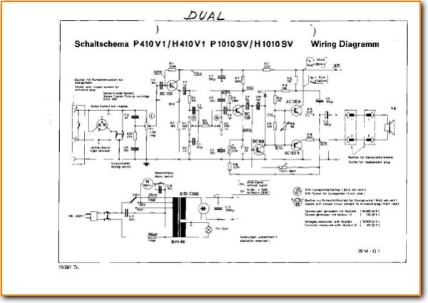 Dual P 1010 Sv Turntable Record Player On Demand Pdf
