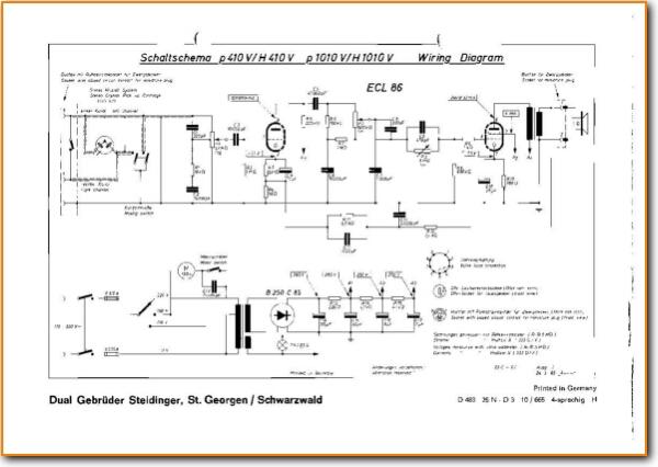 Incredible Dual P 1010 V Turntable Record Player On Demand Pdf Download German Wiring Database Mangnorabwedabyuccorg