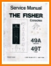 Fisher 49-A Tube Amplifier Main Technical Manual - PDF & Tech Help* | English