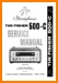 Fisher 500-C Tube Amplifier Main Technical Manual - PDF & Tech Help* | English