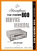 Fisher 600 Tube Amplifier Addendum - C Technical Manual - PDF & Tech Help* | English