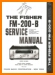 Fisher FM-200-B Tube Amplifier Main Technical Manual - PDF & Tech Help* | English