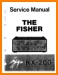 Fisher KX-200 Tube Amplifier Main Technical Manual - PDF & Tech Help* | English