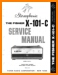 Fisher X-101-C Tube Amplifier Main Technical Manual - PDF & Tech Help* | English
