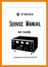 Kenwood 9-R-59 Amp Receiver Main Technical Manual - PDF & Tech Help* | English