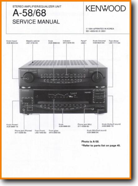 kenwood a 58 solid state amp receiver on demand pdf download english kenwood car radio wiring diagram kenwood 921 amp wiring diagram #5
