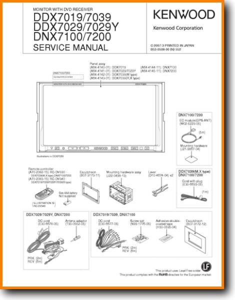 Kenwood Ddx7019 Wiring Diagram from www.turntableneedles.com