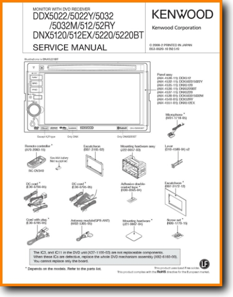 Wiring Diagram For Kenwood Car Cd Player : Kenwood car stereo wiring harness diagram ddx