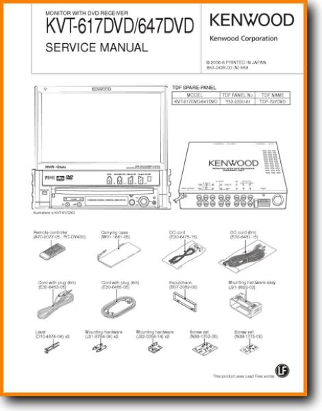 Kvt-617 Wiring Diagram