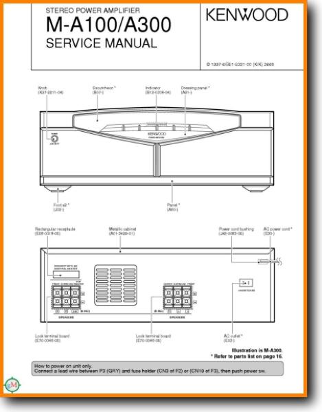 Kenwood kac amp wiring diagram schemes