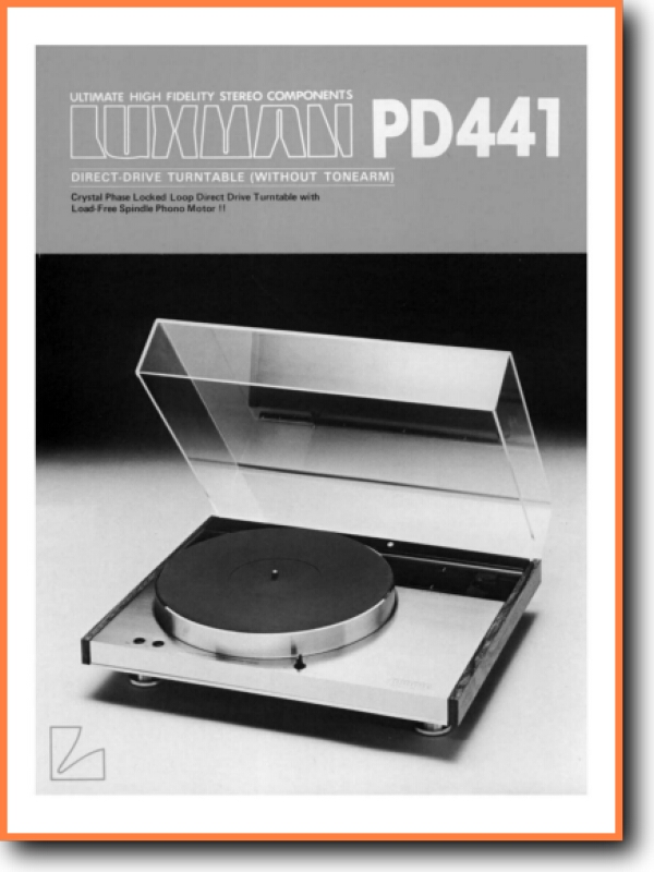 Luxman Pd 441 Turntable Record Player On Demand Pdf Download English