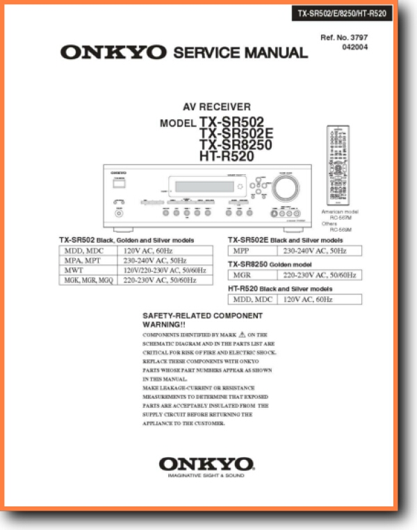 Onkyo Htr-520 Solid State Amp Receiver