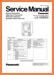 Panasonic LXV-55-EN Mini Shelf System Main Technical Manual - PDF & Tech Help* | English
