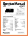 Panasonic SAAK-17 Mini Shelf System Main Technical Manual - PDF & Tech Help* | English