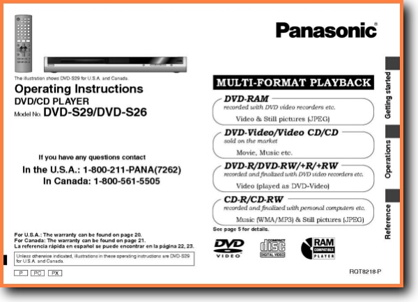 Gpx dvd Player instruction manual