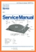Philips 22-AF-073 Turntable Record Player Main Technical Manual - PDF & Tech Help* | German