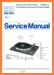 Philips 22-AF-087 Turntable Record Player Main Technical Manual - PDF & Tech Help* | German