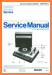 Philips 22-AF-372 Turntable Record Player Main Technical Manual - PDF & Tech Help* | English