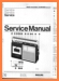 Philips 22-AR-090 Portable Stereo Main Technical Manual - PDF & Tech Help* | English