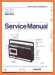 Philips 22-AR-284 Portable Stereo Main Technical Manual - PDF & Tech Help* | English