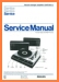 Philips AF-382 Turntable Record Player Main Technical Manual - PDF & Tech Help* | English